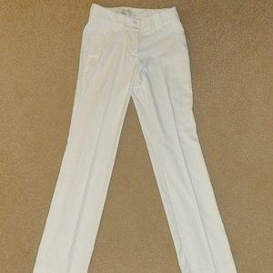 Women's White Nike Golf Pants Size 0